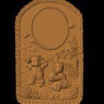 Teddy Bear Clock 2 RNB