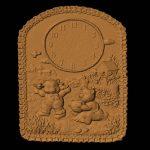 Teddy Bear Clock  RNB